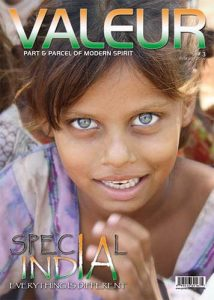 VALEUR Issue 1 - Special India Cover