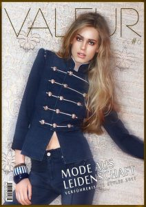 VALEUR History Cover No 6 - Value For Money - Model: Vanessa Hessler for Airfield