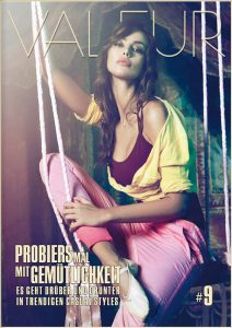 VALEUR MAGAZINE Issue 9 Cover Casual Special - Photo: MADALINA GHENEA for DEHA