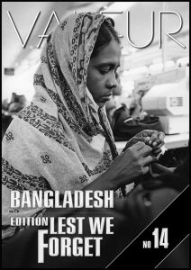 VALEUR Cover No 14 - Lest We Forget, the Reeva Steenkamp and Bangladesh issue