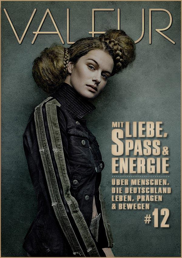 VALEUR MAGAZINE Issue 12 Cover