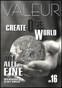 VALEUR Cover No 16 - Create One World, A Social Media of the modern kind