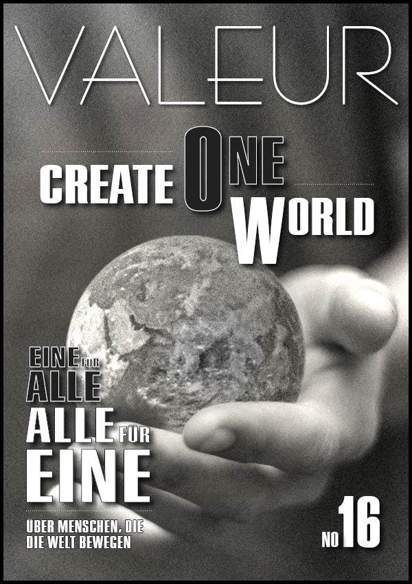 VALEUR MAGAZINE Issue 16 Cover
