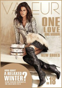 VALEUR Cover No 18 - One Love, One Vision, Cover: GUESS