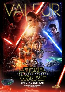 VALEUR MAGAZINE Star Wars The Force Awakens Special Edition Cover © TM & LUCASFILM LTD. ALL RIGHTS RESERVED.