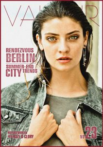 VALEUR Cover No 23 - Rendezvous Berlin - Summer-End City Trends, Cover: Haze & Glory