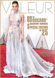 VALEUR Cover No 25 - The OSCARS - Academy Awards Special Edition 2017, Photo: Hailee Steinfeld for Ralph & Russo
