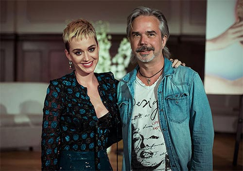 Katy Perry with Marco Kokkot © Philipp Gladsome, Marco Kokkot Photography Portfolio Avatar