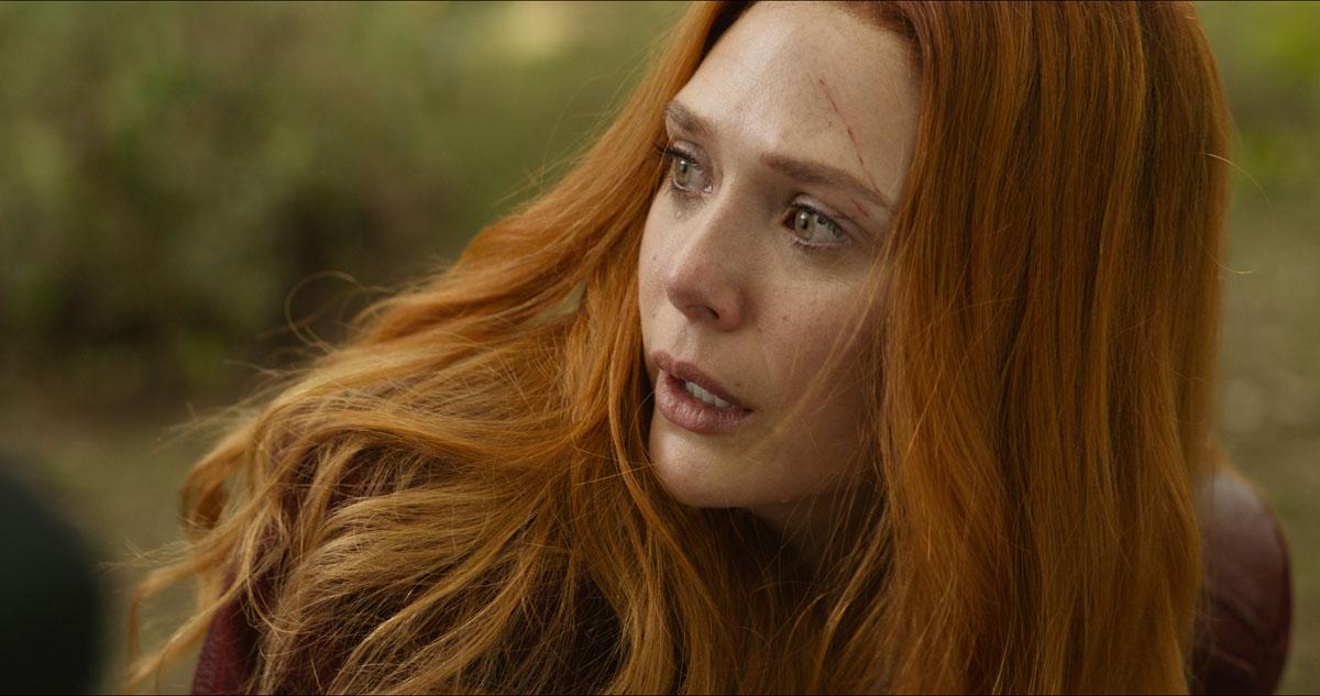 Scarlet Witch/Wanda Maximoff (Elizabeth Olsen) in Marvel Studios' AVENGERS: INFINITY WAR
