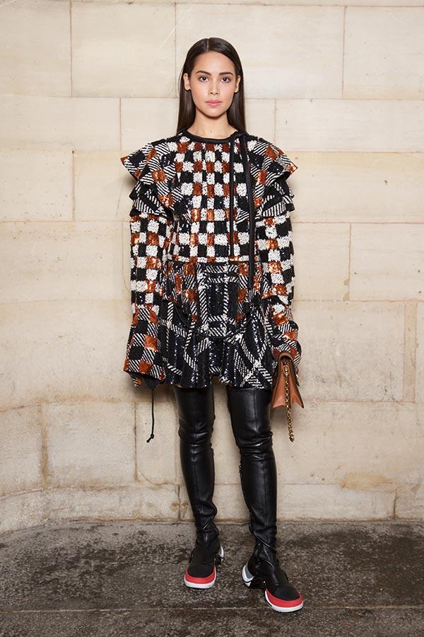 Urassaya Sperbund wears Louis Vuitton