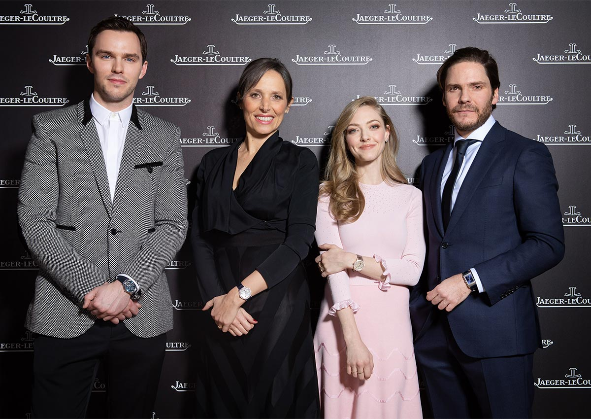 Amanda Moon Ray jaeger-lecoultre welcomed stars at the sihh 2019