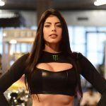 VALEUR MODEL Dalal in a sportive style in the gym