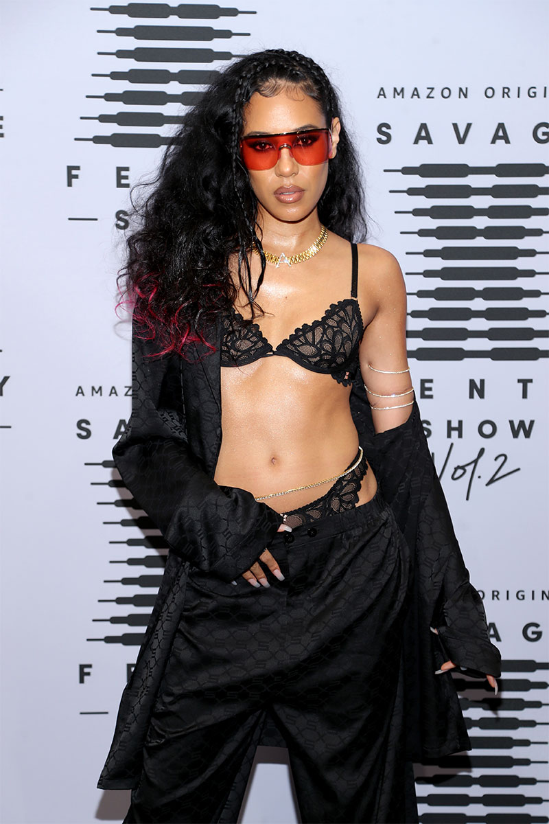 ALEALI MAY attents the Savage X Fenty Show ©Jerritt Clark/Getty Images ©Jerritt Clark/Getty Images