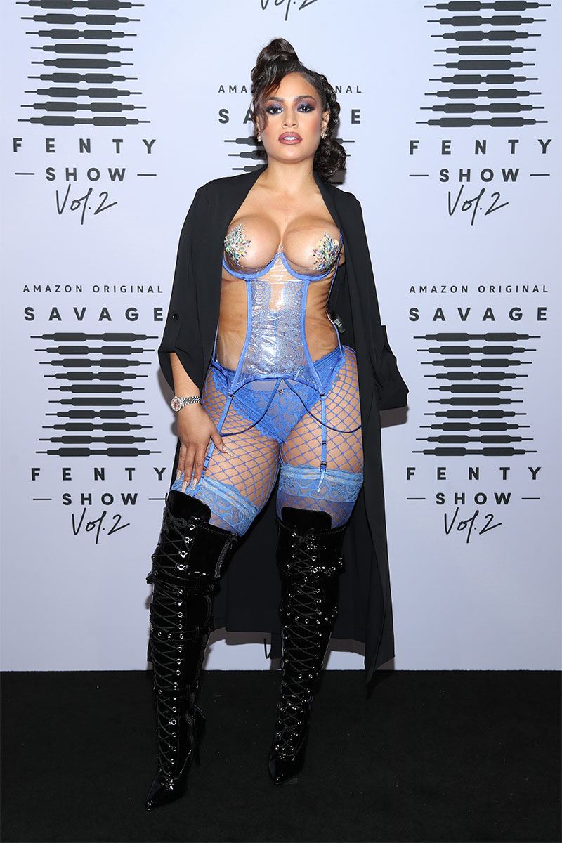 MISS 5TH AVENUE attents the Savage X Fenty Show 2020 ©Jerritt Clark/Getty Images