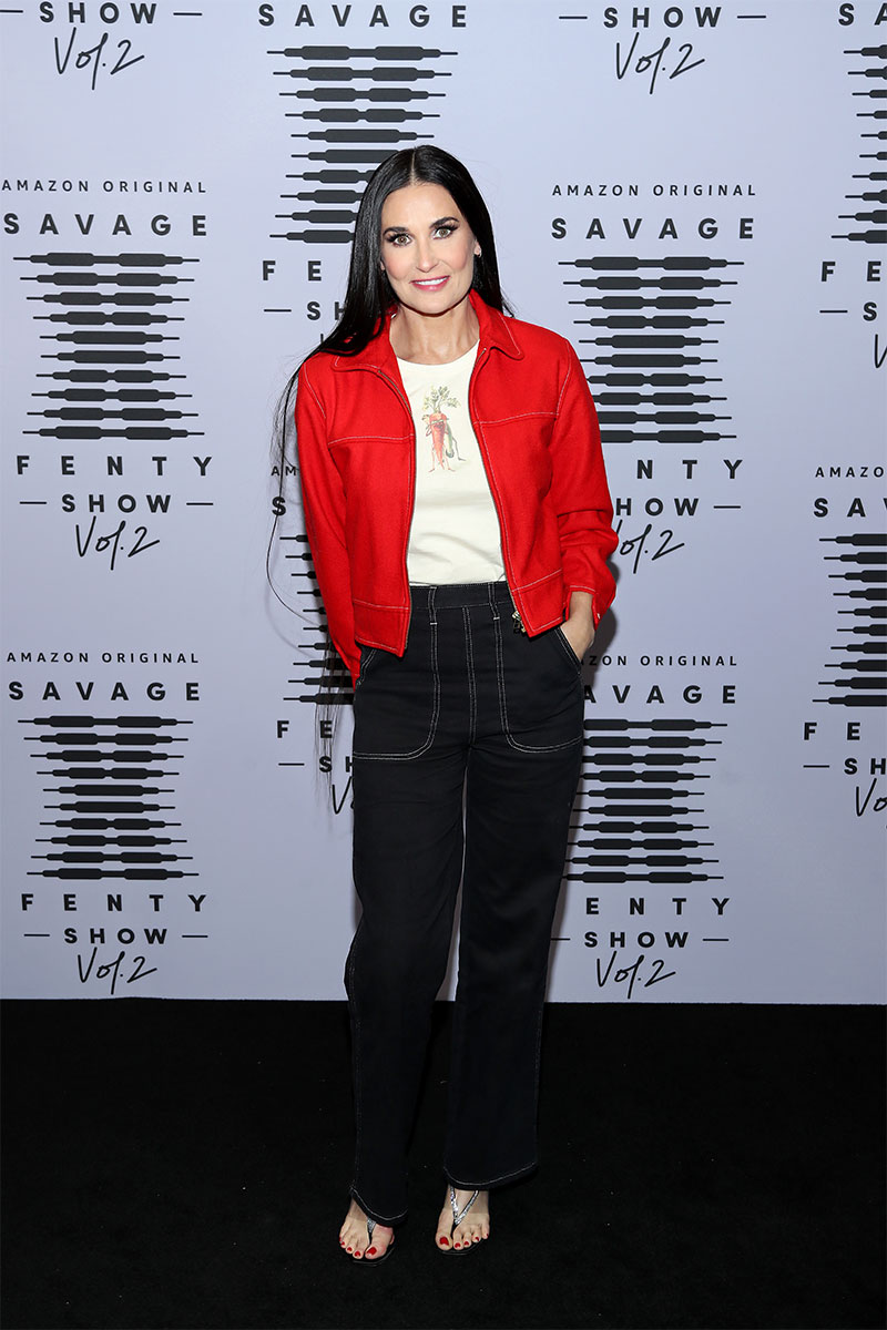 DEMI MOORE attents the Savage X Fenty Show 2020 ©Jerritt Clark/Getty Images